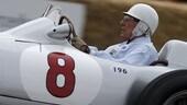 Stirling Moss ricoverato ma le sue condizioni sono stabili