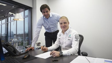 Formula 1: ufficiale Bottas in Mercedes, Massa in Williams