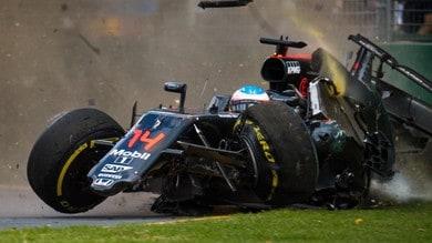 Halo, la FIA ha simulato l'incidente di Alonso in Australia