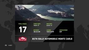 Rally di Montecarlo: il percorso delle 17 speciali