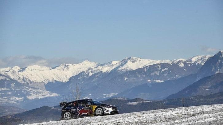 Rally Montecarlo, Ogier inaugura la nuova era WRC Plus