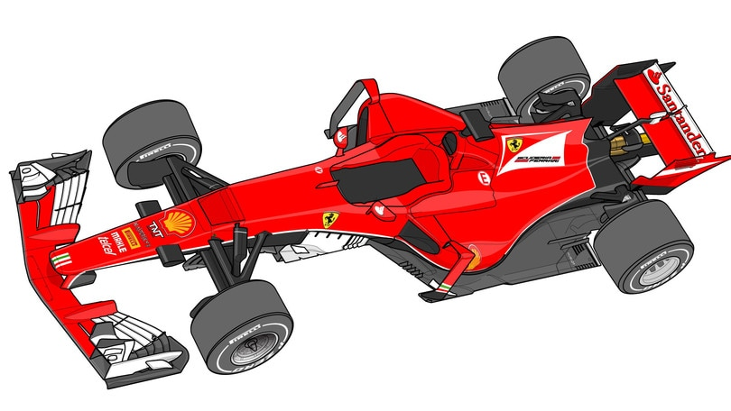 Ferrari progetto 668, la monoposto 2017: foto