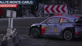 Rally di Montecarlo, le nuove Hyundai i20 all'esordio
