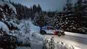 Rally di Svezia, Neuville in testa dopo la prima tappa