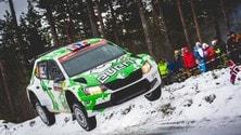 Rally Svezia, le immagini più belle
