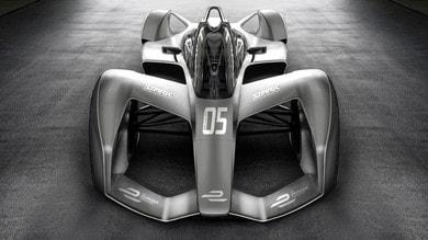 Formula E, monoposto futuristiche nel 2018