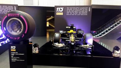 Presentate le nuove gomme Pirelli F1 2017