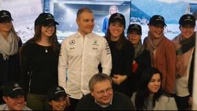 Bottas, il giorno di benvenuto in casa Mercedes