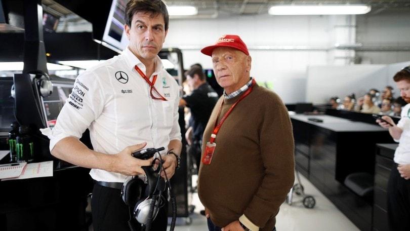 Mercedes: Wolff e Lauda rinnovano l'accordo fino al 2020