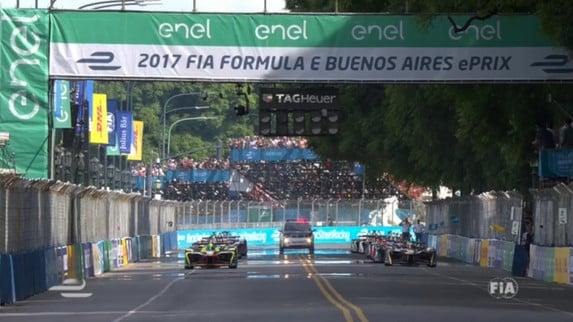 Formula E - Buenos Aires: Buemi tris