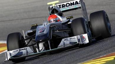 Mercedes, 10 anni di monoposto di Formula 1