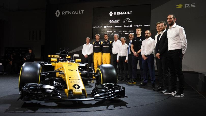 Jerome Stoll: con la RS17 vogliamo essere la quinta forza della F1