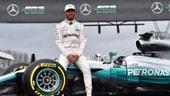 """Hamilton: """"La nuova Mercedes W08 è una bestia molto potente"""""""