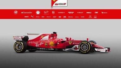 Ferrari SF70H, inno alla tradizione rossa