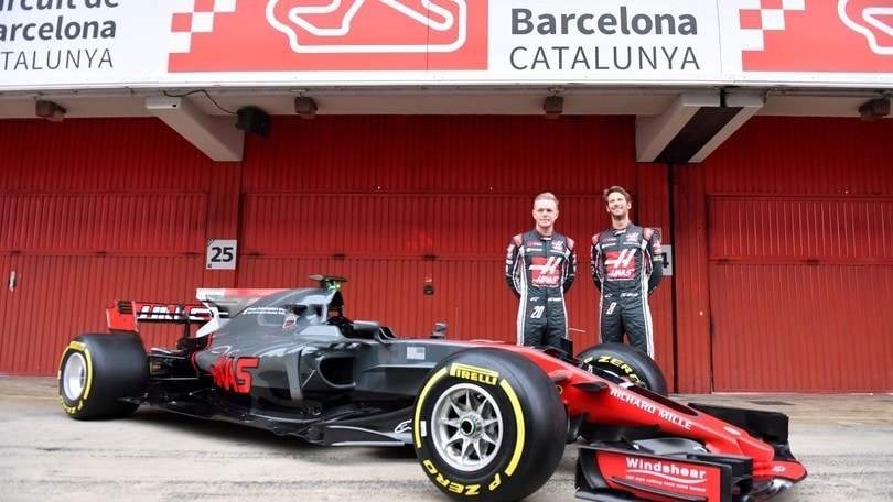 Haas VF17, F1 in salsa USA atto secondo