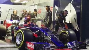 Toro Rosso STR12, giovani tori crescono