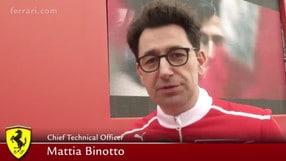 """Binotto: """"La sfida è essere i migliori"""""""