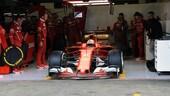 Test F1: la Ferrari parte bene a Barcellona