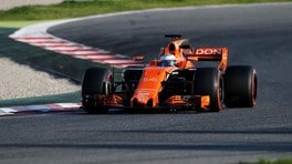 Test Barcellona, delusione per la McLaren