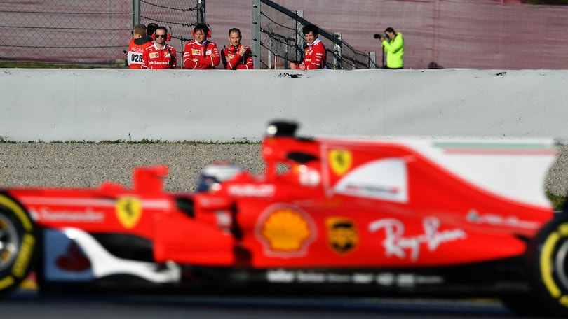 Test Montmelò, Massa leader in prima giornata e Vettel ok