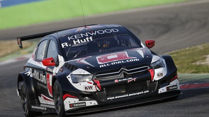 WTCC: dominio di Huff nella due giorni di test a Monza