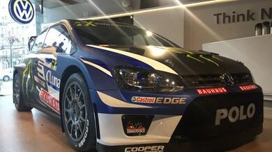 Rallycross, Solberg con la VW Polo ufficiale