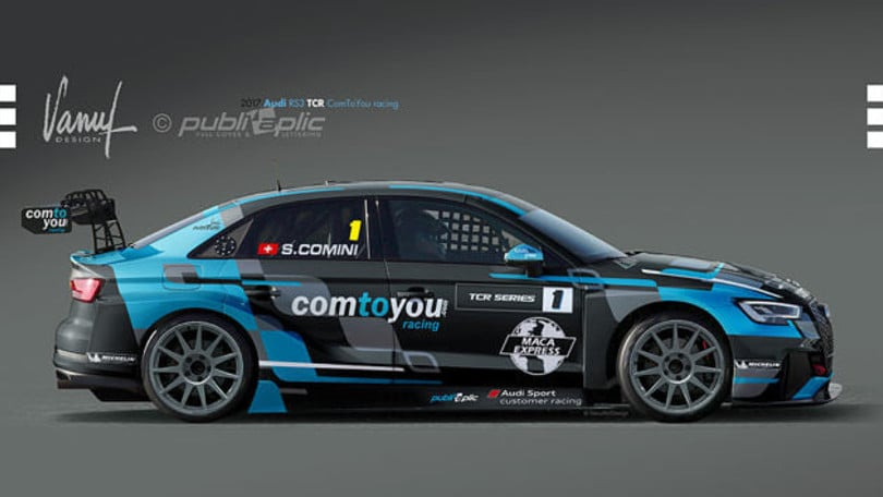 Stefano Comini con Audi punta al terzo titolo TCR