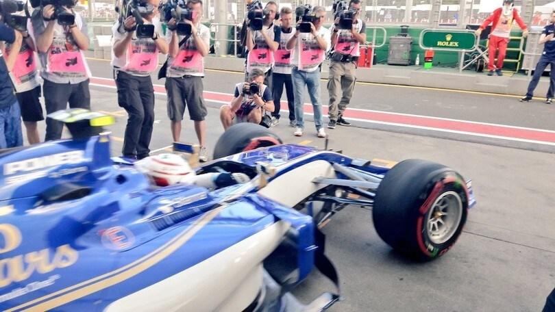 Formula 1 Australia, debutto a sorpresa per Giovinazzi