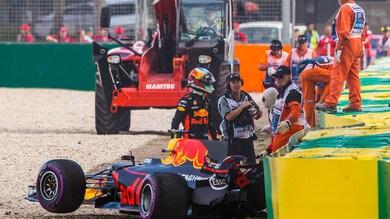 """Delusione Ricciardo: """"Cercherò di rimediare in gara"""""""