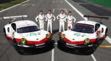 WEC, le Porsche 911 RSR: foto