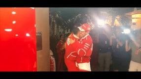 F1 - Gp Bahrain: la dedica di Sebastian Vettel