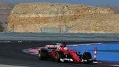 Test Bahrain, debutto per Giovinazzi sulla SF70H:
