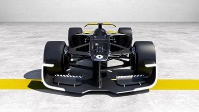 Renault RS Vision 2027, manifesto futurista della Formula 1