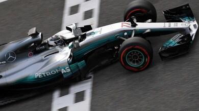 Test F1 Bahrain, Bottas chiude in testa il secondo giorno