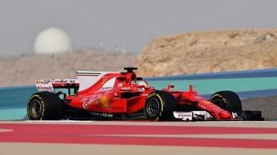Test Bahrain, Vettel: