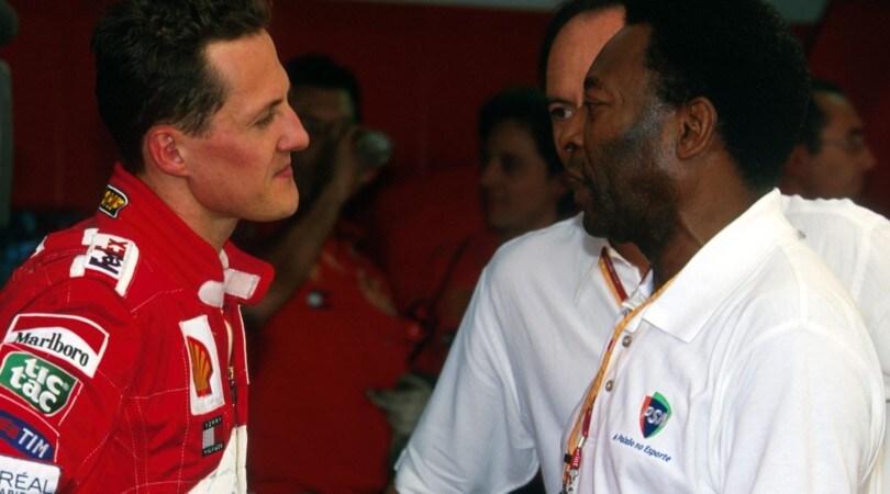 Formula 1, calciatori da gran premio