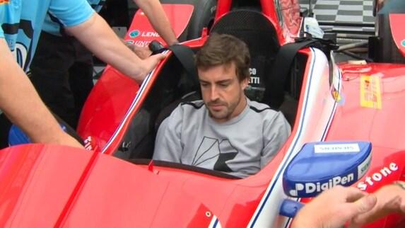 Indycar - Barber Park: Fernando Alonso scopre il nuovo mondo