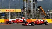 Formula 1 Russia: prima fila tutta Ferrari!