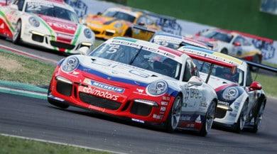 Porsche Carrera Cup Italia, Pera vince gara-1, Fulgenzi gara-2