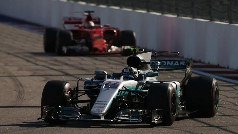 Formula 1 Russia, Bottas vince davanti alle Rosse