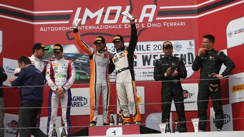 GT Italiano, aImola vince di nuovo la Ferrari di Venturi-Gai