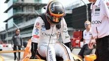 Alonso ai test della Indy 500: foto