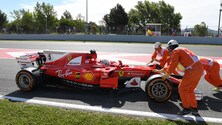 Formula 1 Spagna: le immagini delle libere1 dal Montmelò