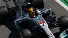 Formula 1 Barcellona, il venerdì è di Mercedes: foto
