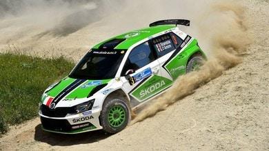 Italiano Rally, Scandola domina la prima tappa all'Adriatico