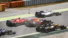 Formula 1 Spagna, scontro fra titani: foto