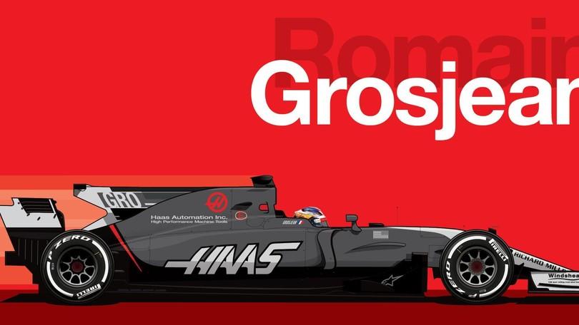 Haas cambia la livrea. C'è meno rosso e più grigio
