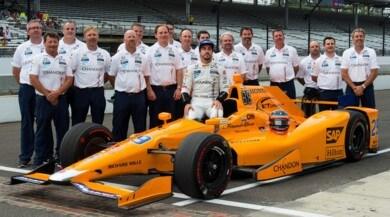 Indy 500,Alonso è già nella storia