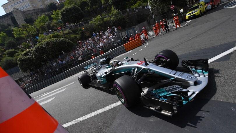 Formula 1 Montecarlo: libere 1 a Hamilton, Vettel a 2 decimi