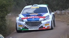 C.I.R. - Rally del Salento: Andreucci implacabile